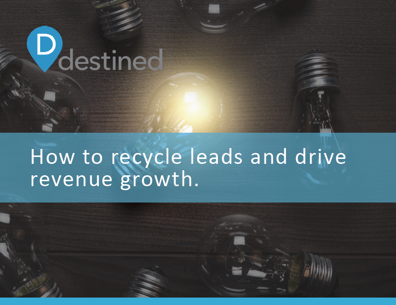 How to recycle leads